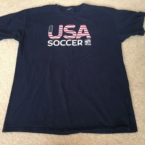 Other - USA Soccer Women's World Cup Navy Tee - XS